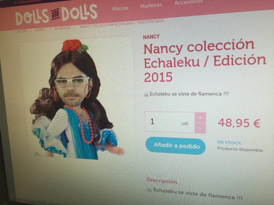 La nueva Nancy Echaleku edición sevillana Dolls&Dolls - kuombo