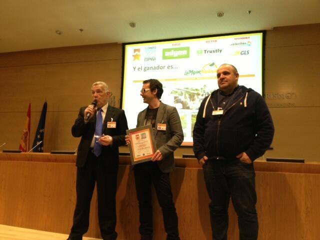 LaMejorNaranja, premiada en el Ecommerce Awards 2013