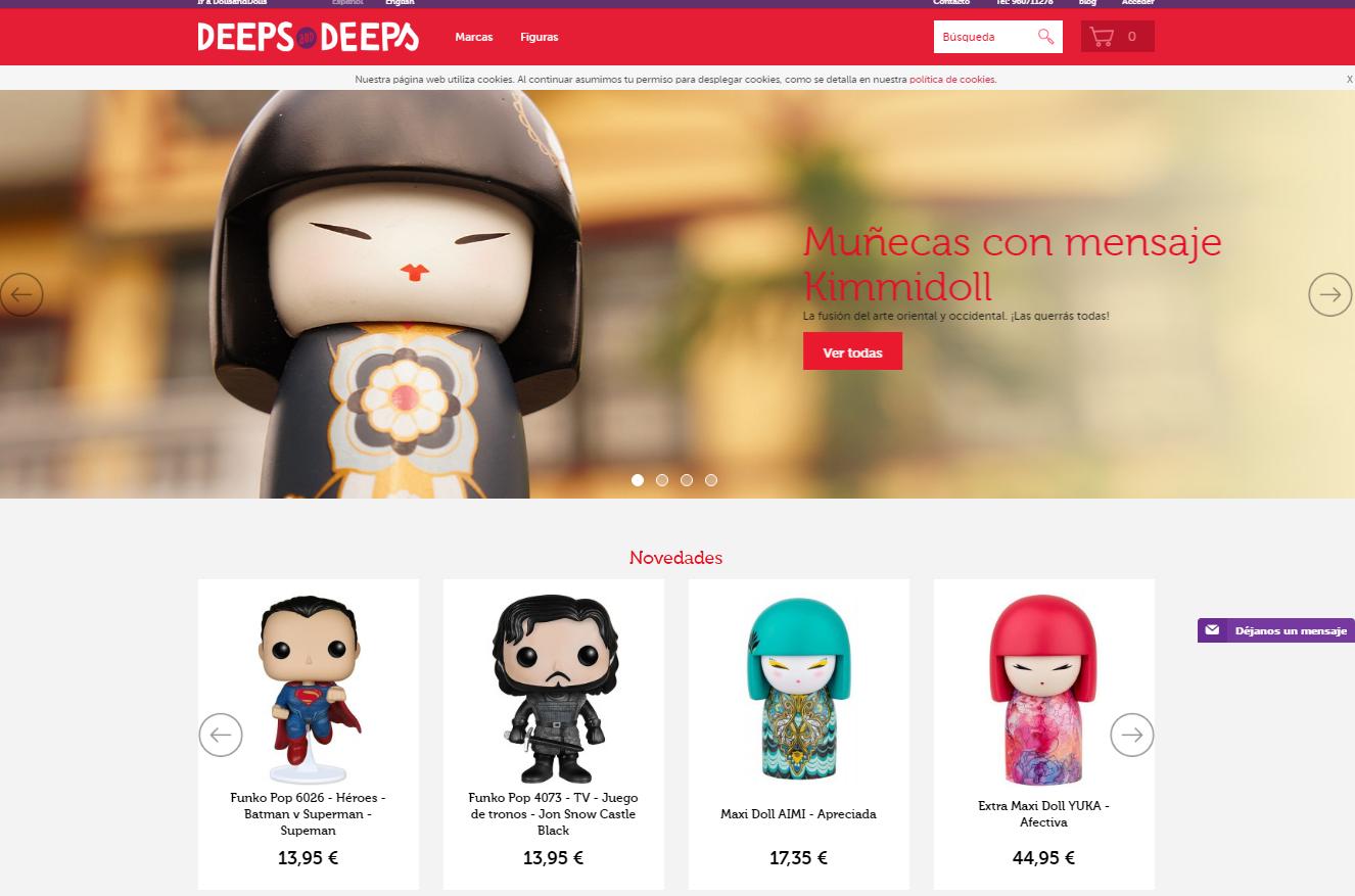 DeepsAndDeeps - tienda online